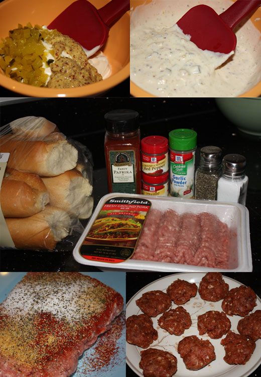 spicy pork sandwich ingredients