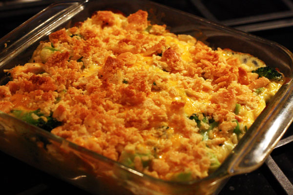 Broccoli, Chicken & Rice Casserole a classic casserole topped with ...