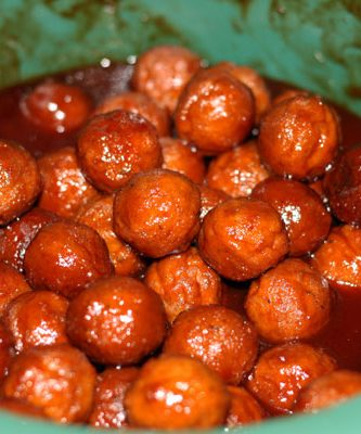sweet and tangy balls