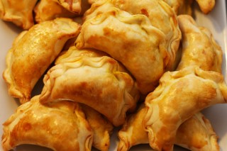 chinese curry pockets
