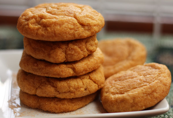 Pumpkin Spice Snickerdoodles are the perfect cookie to celebrate fall.
