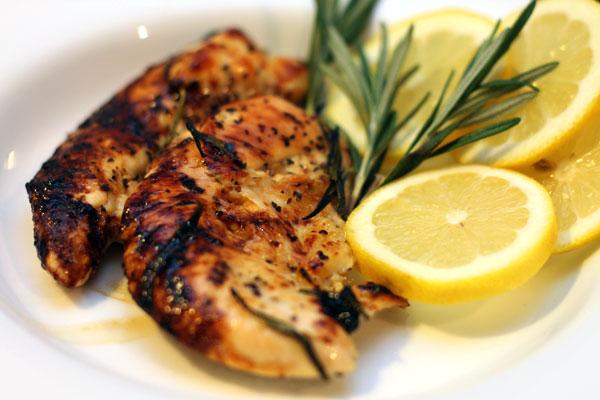 honey glazed lemon chicken