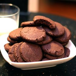 chocolate nutella cookies