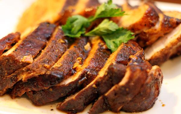 brown sugar spiced pork loin