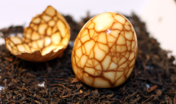 chinese tea eggs - Table for Two