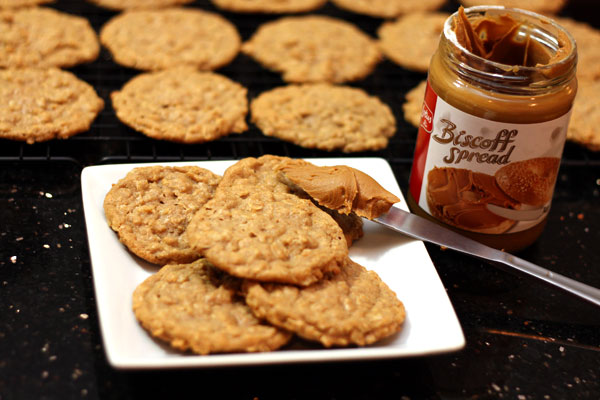 Biscoff Oatmeal Cookies a great spinoff of your favorite oatmeal ...