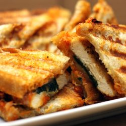 chicken parm panini