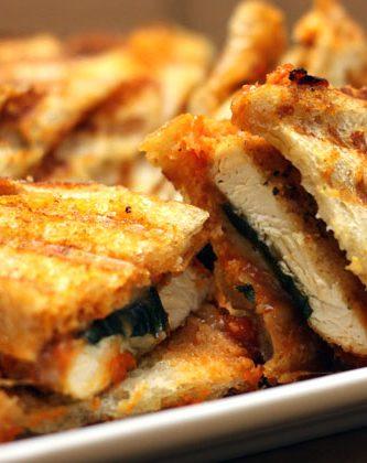 chicken parm panini