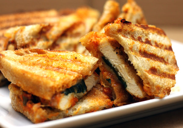 Chicken Parmesan Panini a great twist on everyone's favorite Italian ...