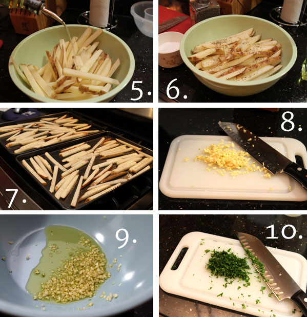 garlic fries step 2