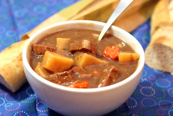 Slow Cooker Guinness Beef Stew Table For Two By Julie Chiou