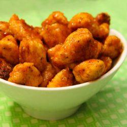 honey chipotle chicken bites