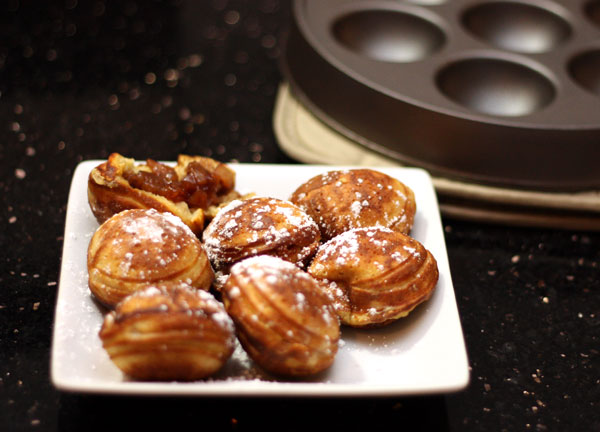 ... with Spiced Apple Filling the most delicious Danish Pancakes