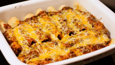 Beef Enchiladas Table For Two By Julie Chiou