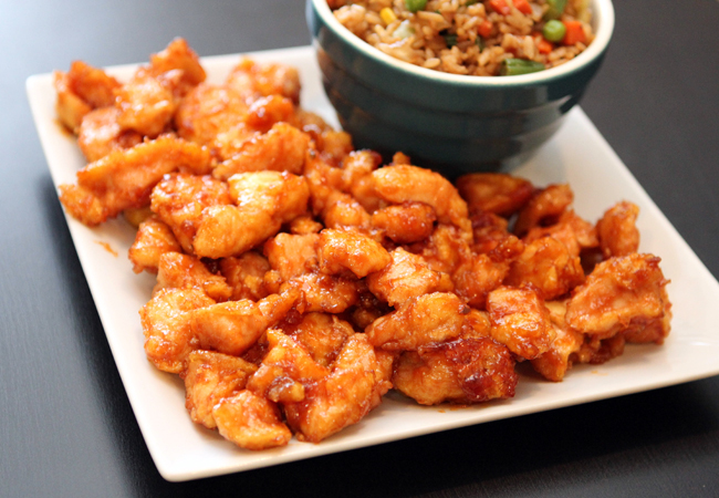 Sweet sour chicken table for two by julie wampler sweet sour chicken forumfinder Choice Image