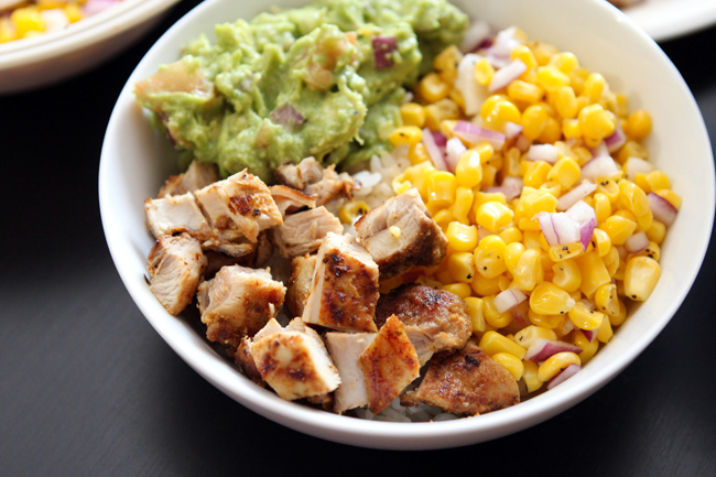 Burrito Bowls Table For Two By Julie Wampler