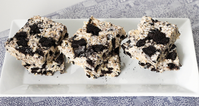 Cookies & Creme Rice Krispies - Table for Two® by Julie Wampler