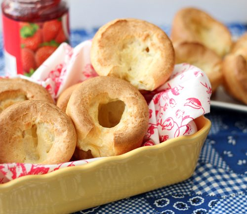Popovers Table For Two By Julie Chiou