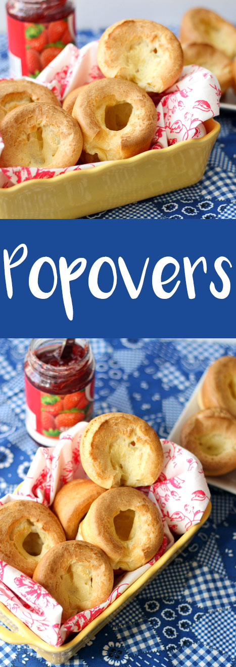Easy popovers that you can make for brunch!