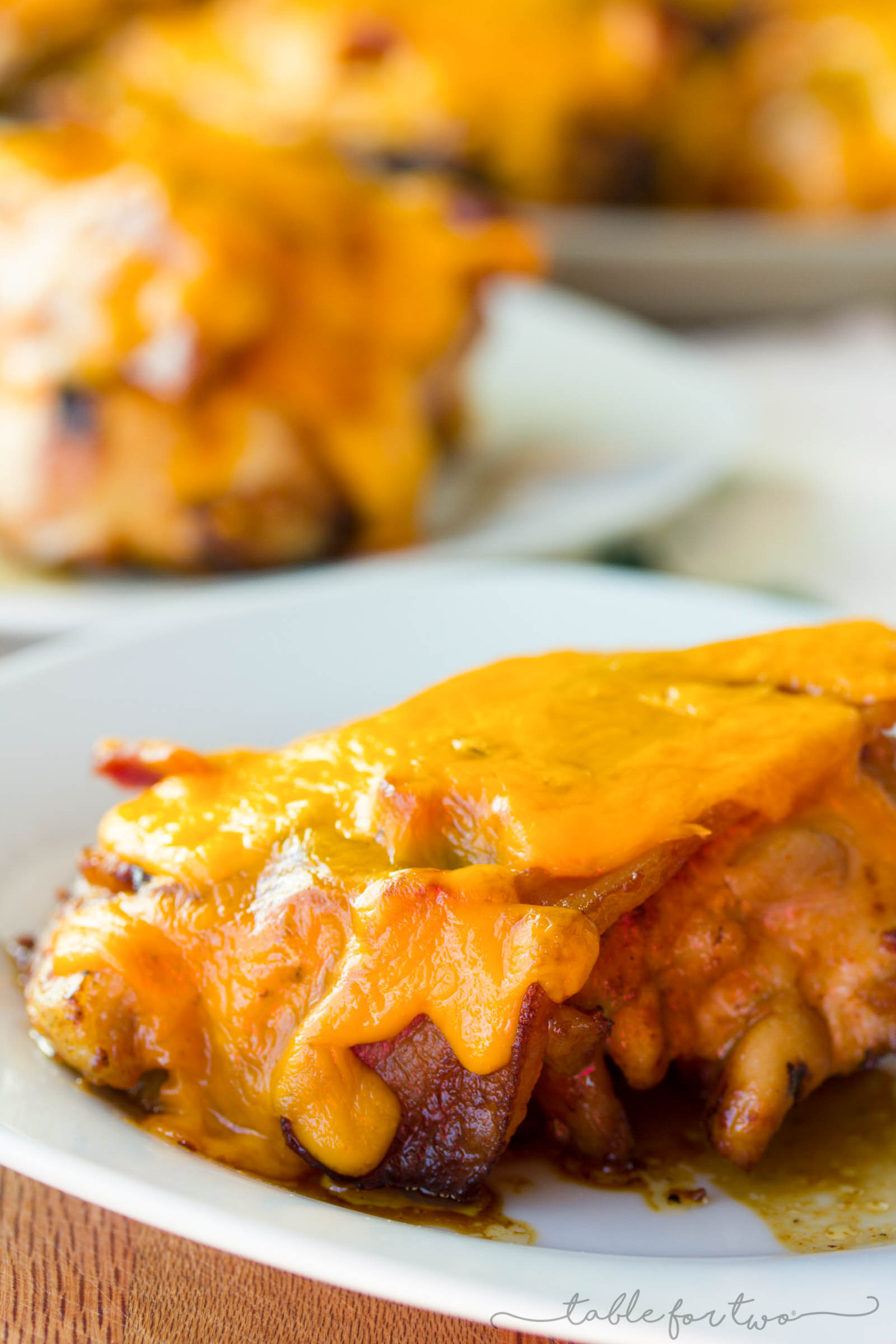 You could always use a quick chicken recipe for the grill, especially one like this! Grilled chicken topped with bacon and cheese. What more could you ask for?!