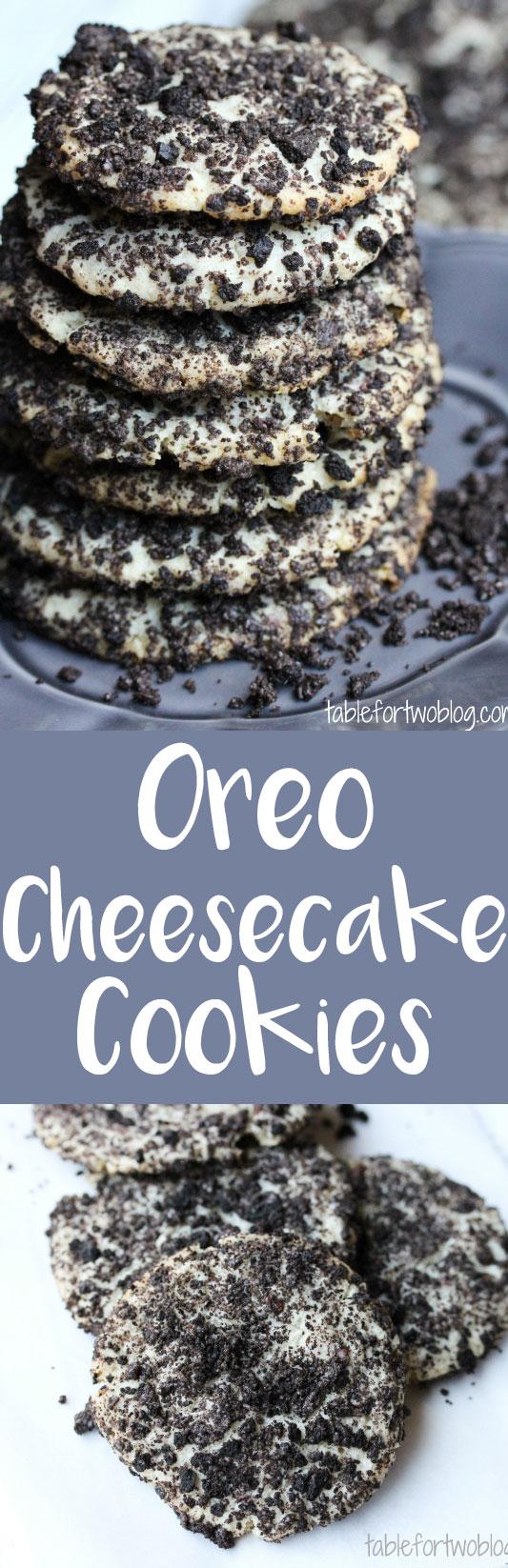 Oreo cheesecake cookies are so addicting!