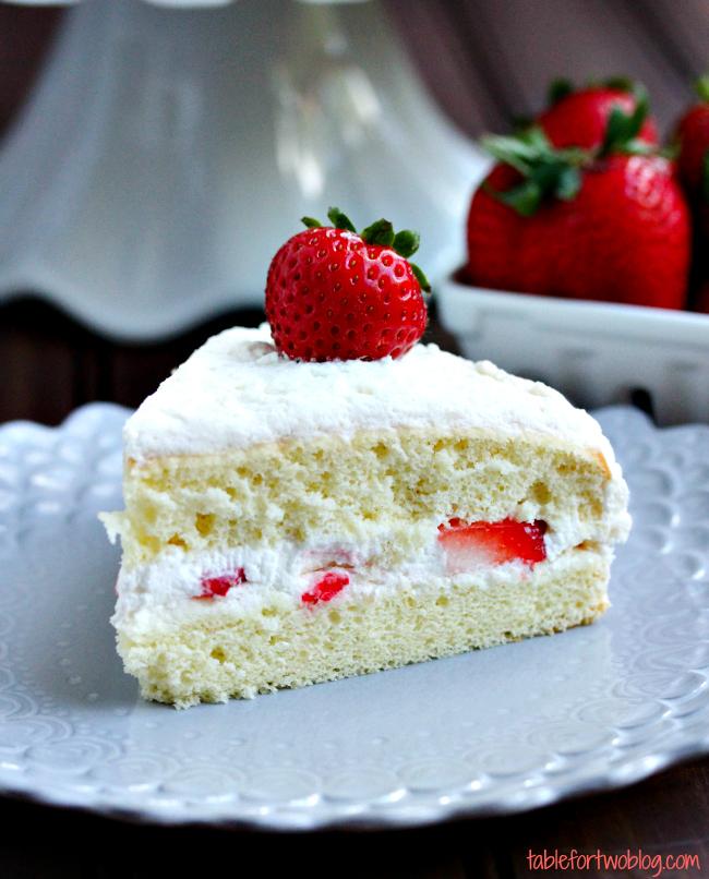 Chinese Fresh Cream Fruit Cake