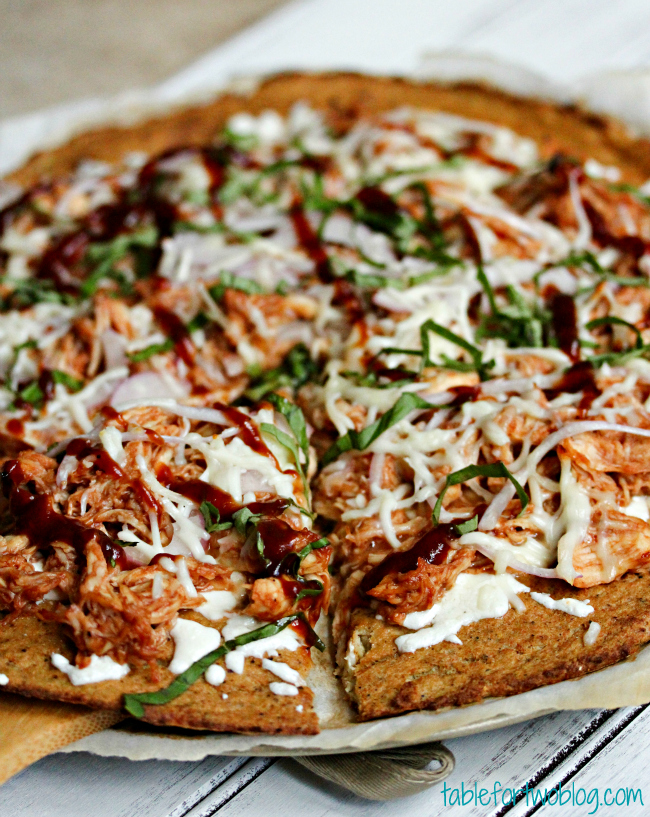 BBQ Chicken Pizza - Table for Two