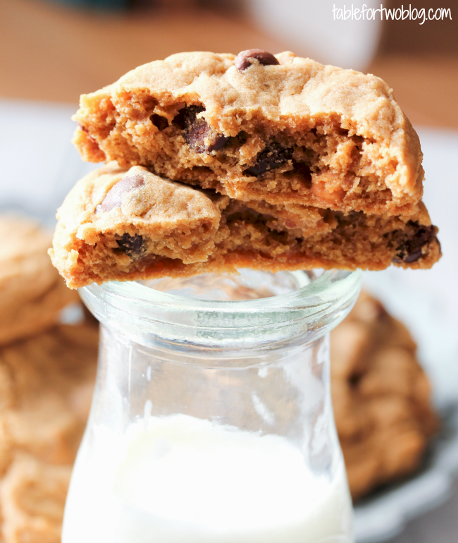Butterscotch Pudding Cookies - Table for Two
