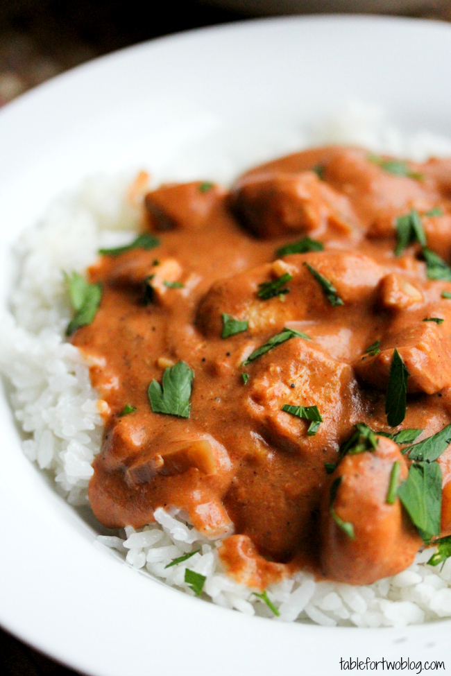 Slow Cooker Chicken Tikka Masala Table For Two By Julie Wampler