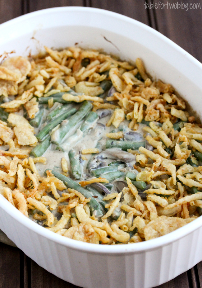 Put down that can opener and make green bean casserole from scratch