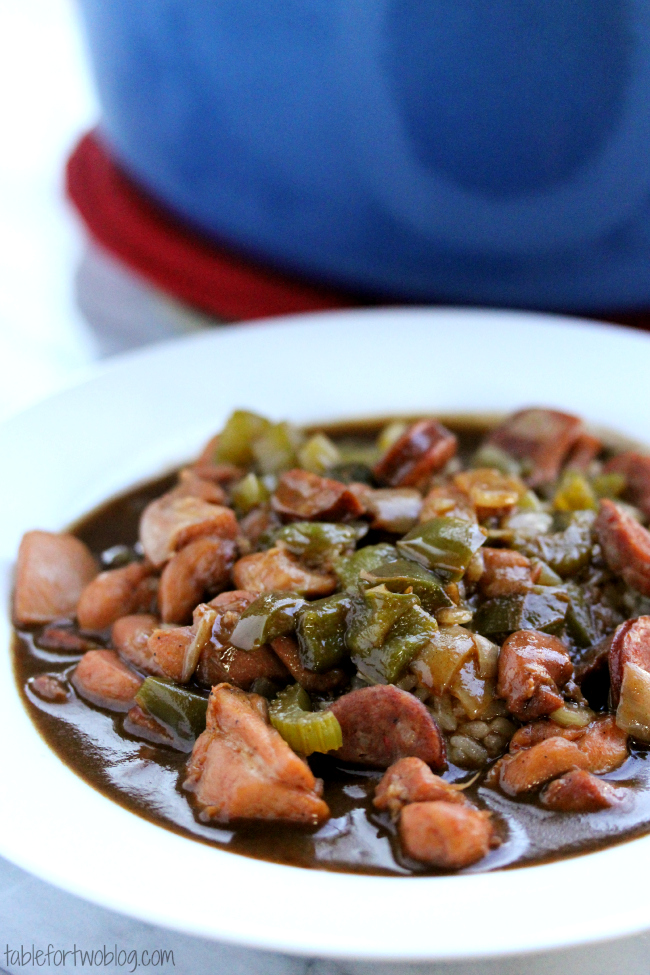 Chicken And Andouille Sausage Gumbo Table For Two By Julie Wampler