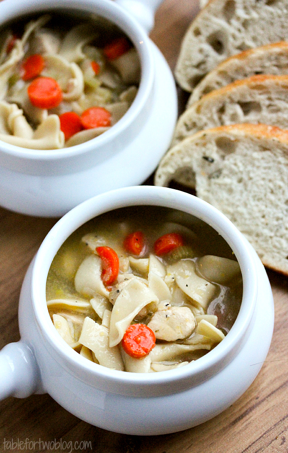 Chicken Noodle Soup Table For Two By Julie Wampler