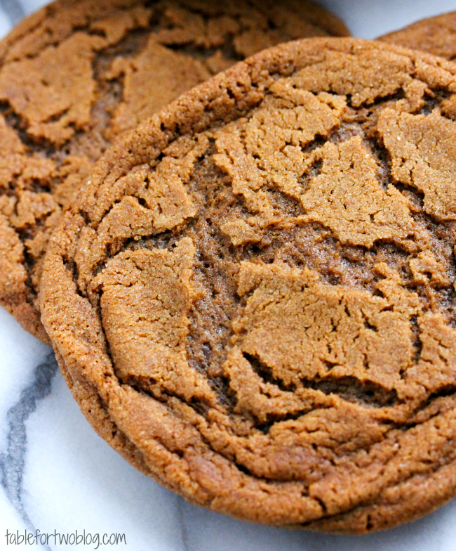 Molasses Ginger Cookies - Table for Two®