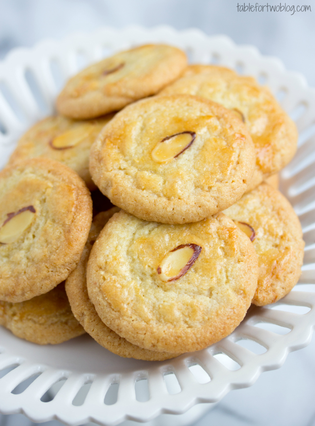 Almond Tea Cakes Cookies