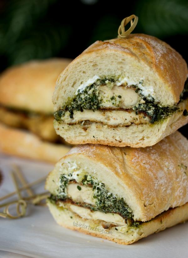 Goat Cheese Pesto Chicken Sandwich