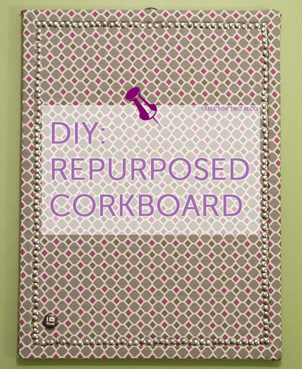 Diy Re Purposed Corkboard Table For Two By Julie Wampler