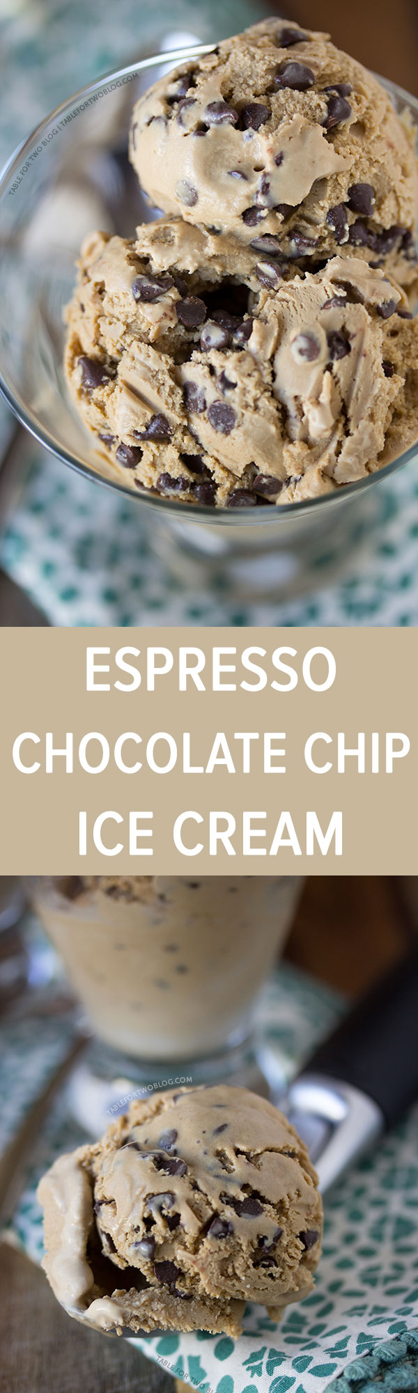 Espresso Chocolate Chip Ice Cream from www.tablefortwoblog.com