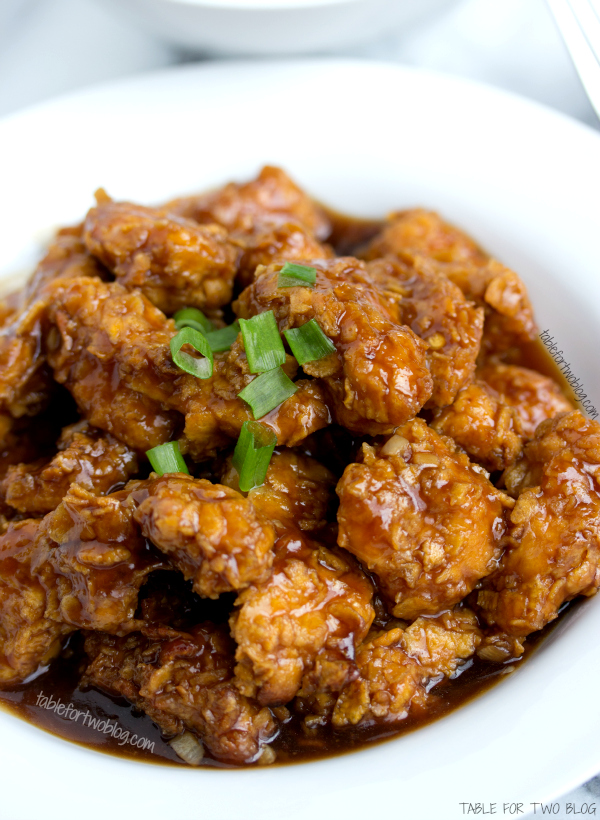 Take-Out, Fake-Out: Lightened Up General Tso's Chicken - Table for Two