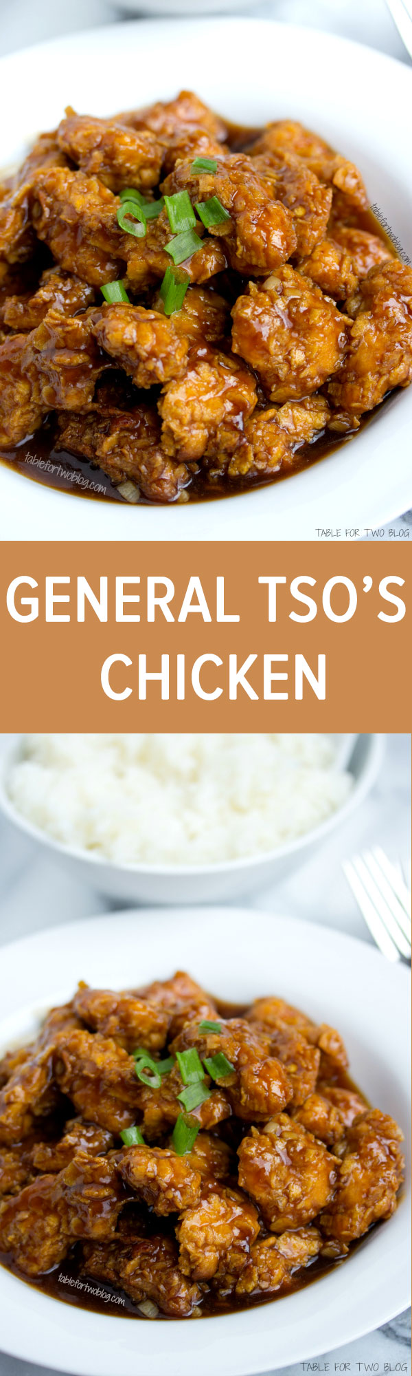 Take-Out, Fake-Out: Lightened Up General Tso Chicken from www.tablefortwoblog.com