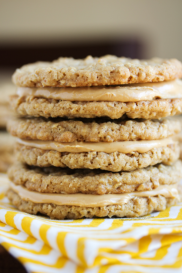 Peanut Butter Sandwich Cookies - Table for Two®