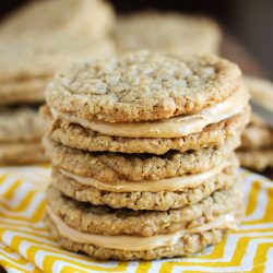 Peanut Butter Sandwich Cookies from www.tablefortwoblog.com