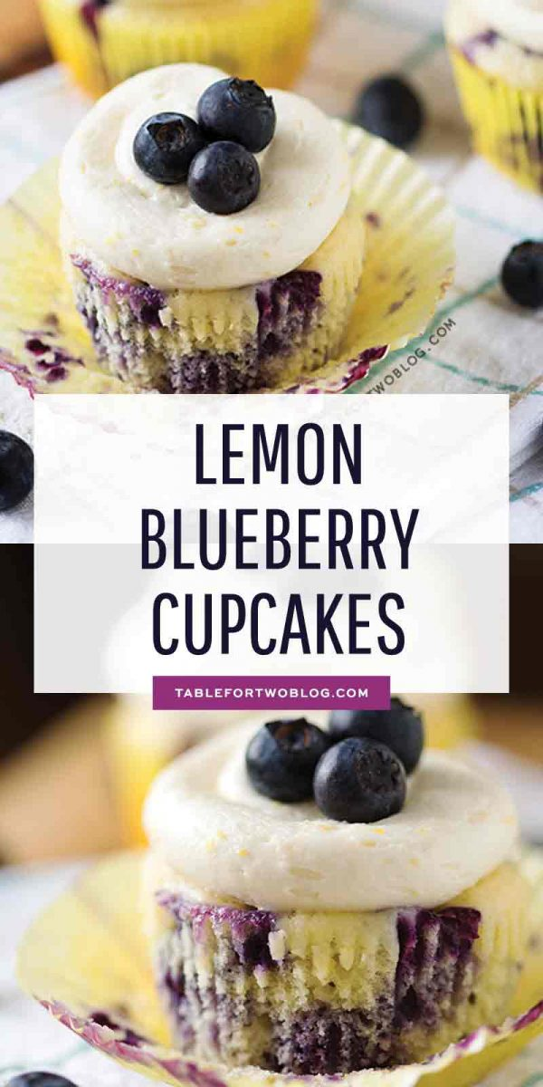 Lemon blueberry cupcakes are the best cupcakes to make in the spring because they bring that cheery feeling into the kitchen! A great way to ring in warmer weather! #lemonblueberry #cupcakes #cupcakelover #cupcakerecipe #dessertrecipes #bakingrecipes
