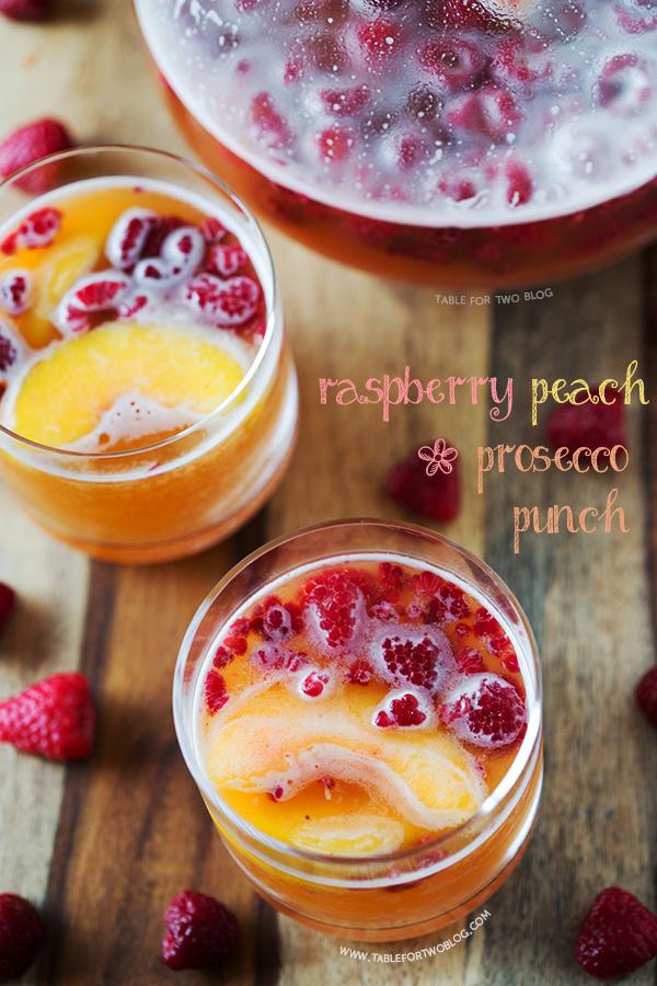 prosecco punch raspberry peach prosecco peaches prosecco larger image ...