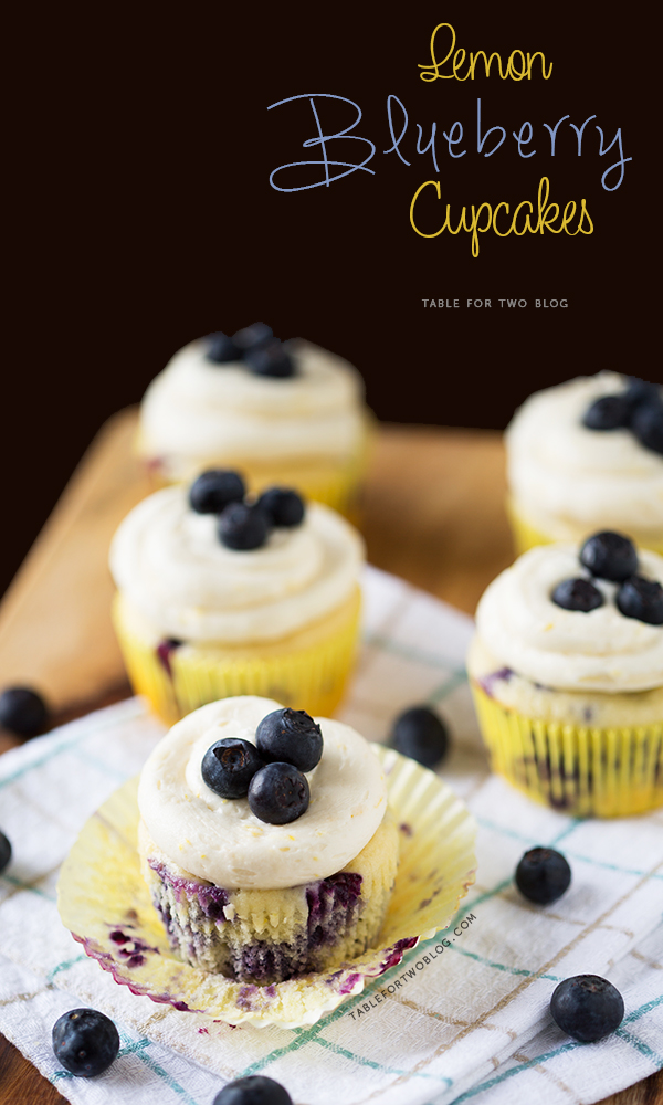 Lemon blueberry cupcakes are the best cupcakes to make in the spring because they bring that cheery feeling into the kitchen! A great way to ring in warmer weather!