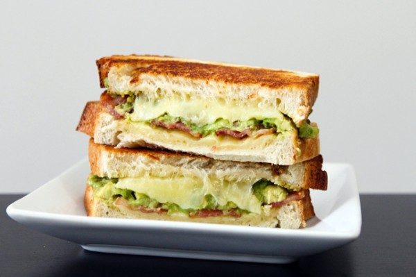 Avocado & Bacon Grilled Cheese - Table for Two