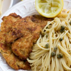 Easy 30 minute chicken piccata from www.tablefortwoblog.com