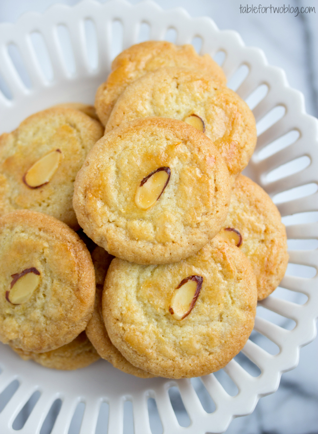 Chinese New Year: Almond Cookies - Table for Two