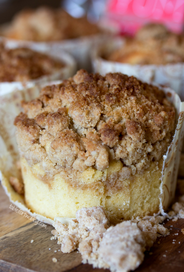 New York Style Coffee Cake Crumb Muffins Big Crumb Cake