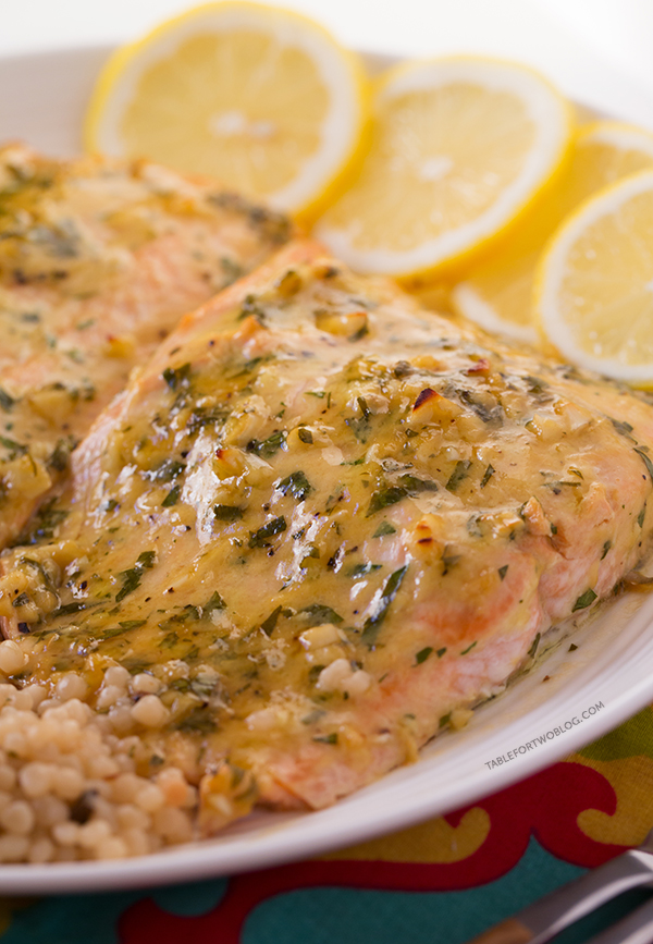 Such an easy salmon dish to make yet so full of flavor!