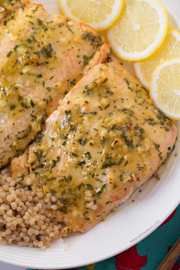 This Baked Salmon with Honey Dijon and Garlic won me a trip to Paris! Imagine what this will do on your dinner table if you made it!